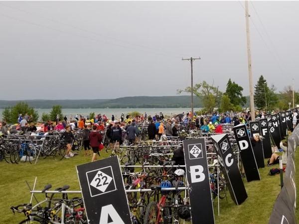The M-22 Challenge - run, bike, paddle and Sleeping Bear Dunes