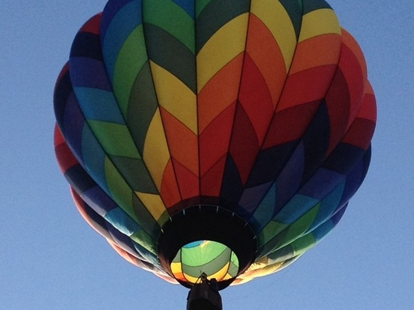 Getting ready for the Michigan Challenge Balloonfest