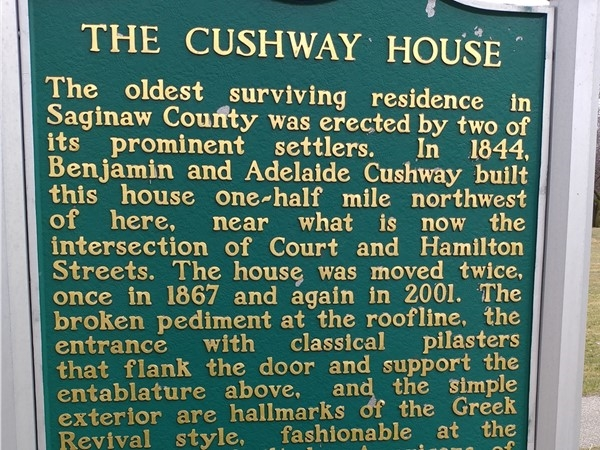 The Cushman House in Saginaw County