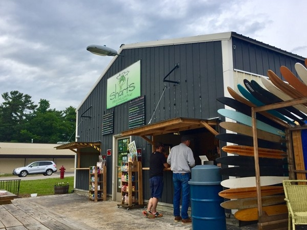 Visit Shorts Pull Barn in Elk Rapids for a craft cider or beer! Additional food trucks coming soon
