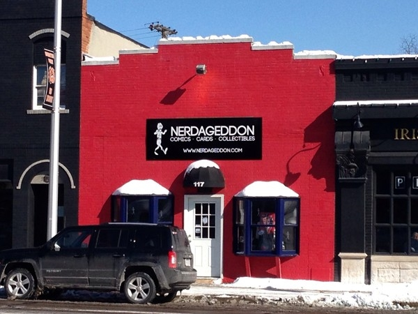 Nerdageddon is the fun new novelty gift shop in quaint downtown Brighton