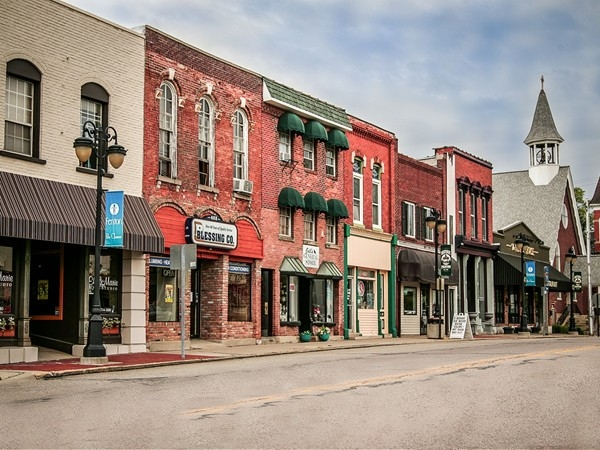 Downtown Fenton is known as Dibbleville