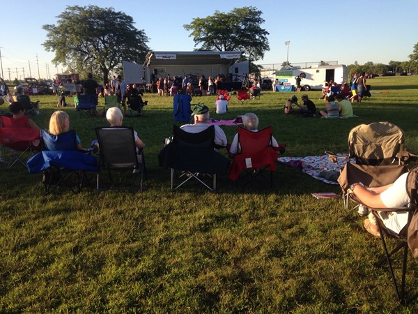 """Concerts in The Park"" are free, weekly live summer concerts in Lansing"