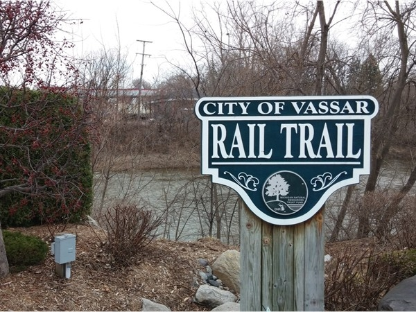 City of Vassar Rail Trail on the Cass River