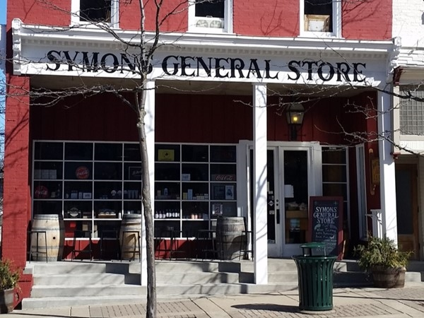 The general store is a great place for lunch and goodies