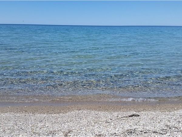 A look out at Lake Michigan