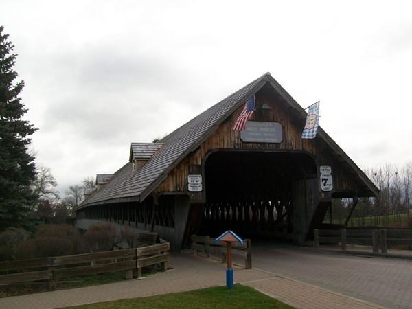 Frankenmuth Holzbrücke Bridge
