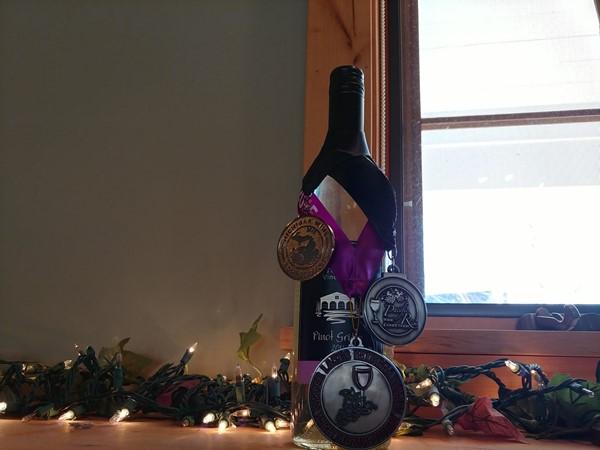 Pick up an award-winning wine at Boathouse Vineyards