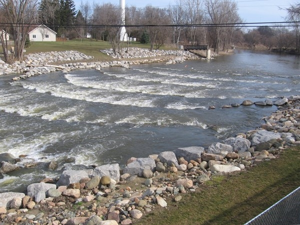 Beautiful River Rapids at Cole Park