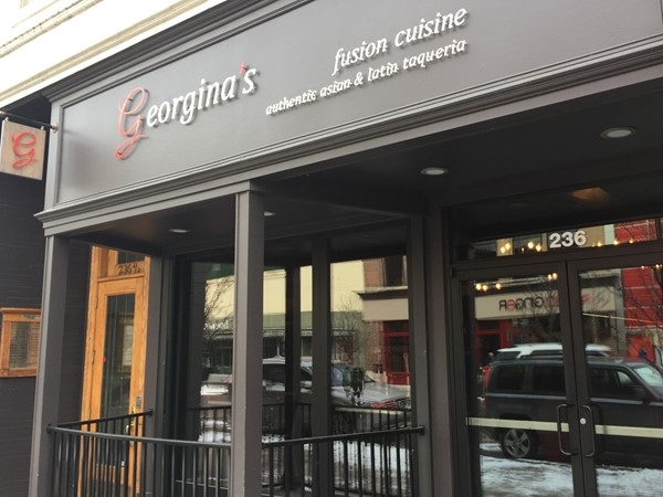 We love Georgina's for delicious, creative Latin and Asian dishes. Stop in during Restaurant Week