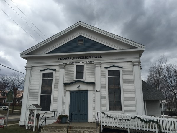 Thomas Jefferson Hall - Methodist Episcopal Church - Oldest congregation in Hastings - built 1860