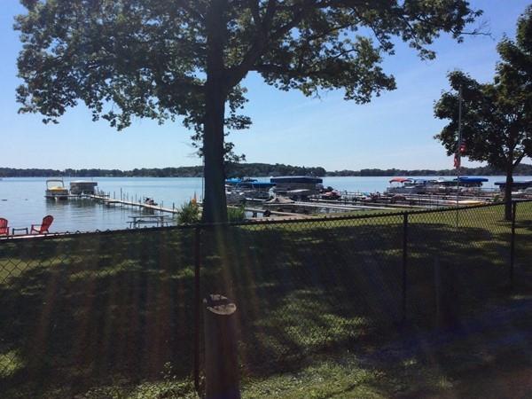Diamond Lake view from Park Street