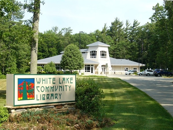 Our library is a great community resource and is right on the bike trail!