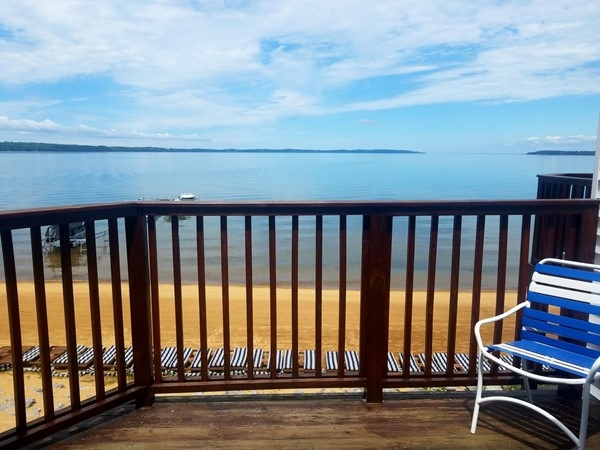 A beautiful look over Grand Traverse Bay