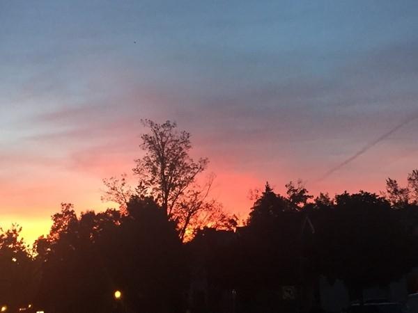 Sunrise on 8th Street...love TC mornings