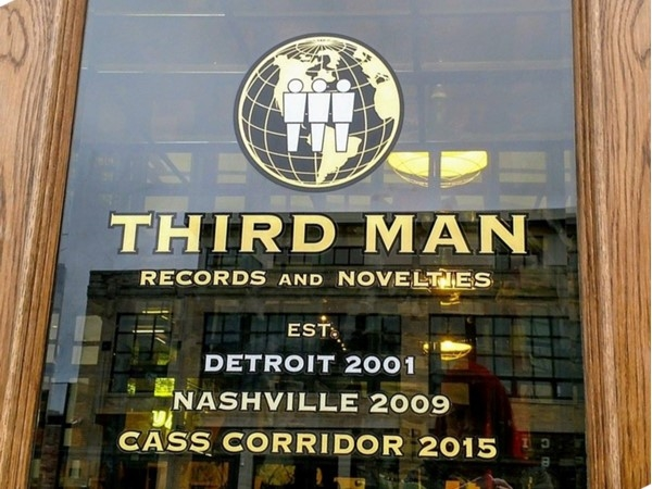 Third Man Records was originally founded by Jack White in Detroit Michigan in 2001