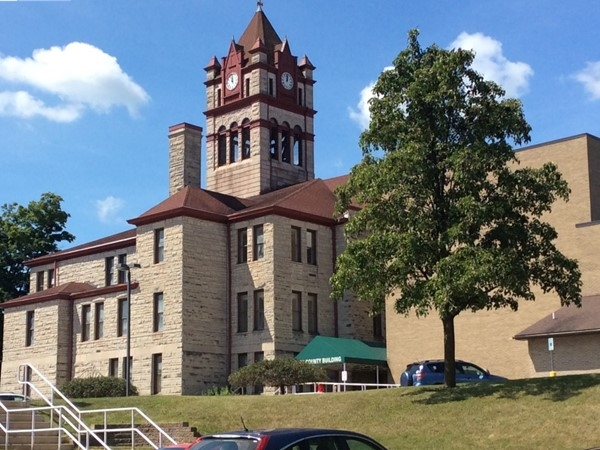 The Cass County Courthouse was built in 1899