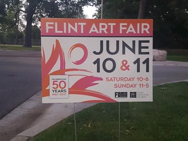 The Flint Art Fair 50th Anniversary