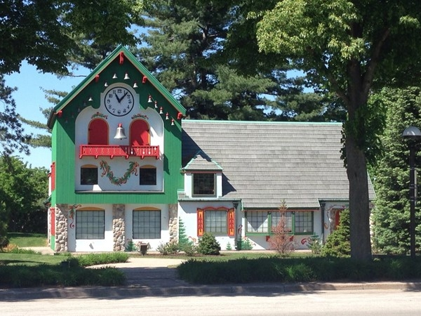 Santa House is a favorite holiday attraction in Midland
