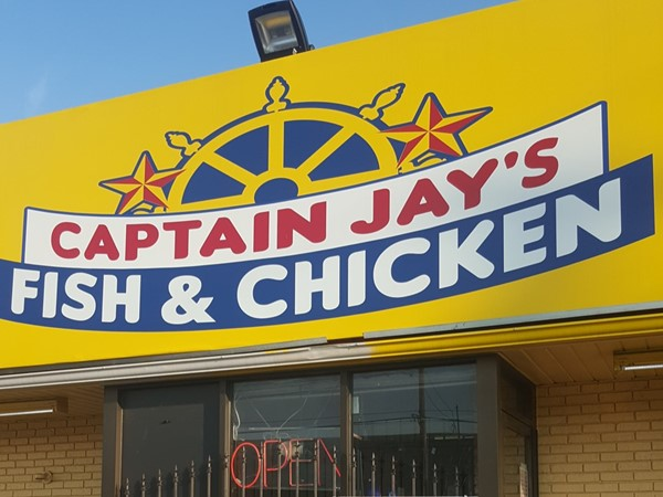 Captain Jay's Fish & Chicken is amazing
