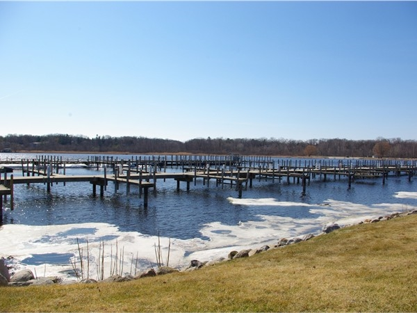 White Lake Municipal Marina waiting for spring.
