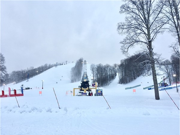 Schuss slopes at Shanty Creek Resort are host to many Michigan Special Olympics Winter Games events!