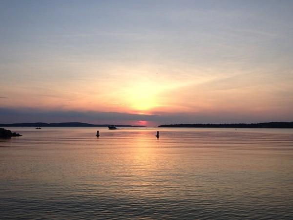 Beautiful sunset on this hidden gem, Sugden Lake