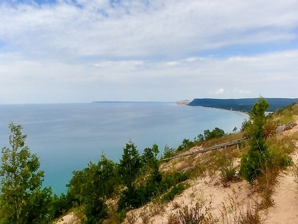 Empire Bluffs Trail...it's always a good day to hike Sleeping Bear Dunes National Lakeshore