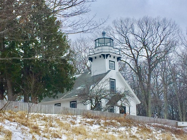 Old Mission Lighthouse is a beautiful reminder of Michigan history! Check out this park