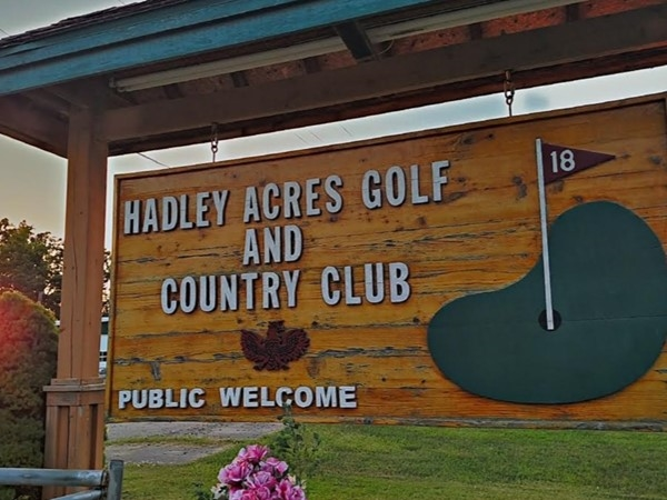 Hadley Acres Golf and Country Club. Features 6,595 yards of golf