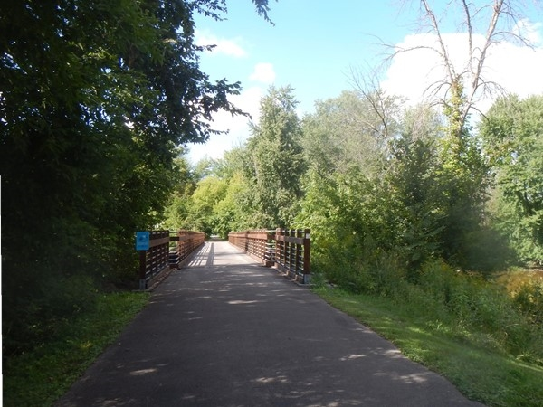 The Saginaw Valley Rail Trail covers 10 miles of abandoned rail corridor from St. Charles to Saginaw