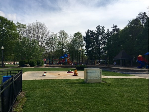Allendale Community Park is a wonderful park with many amenities such as a splash pad and more
