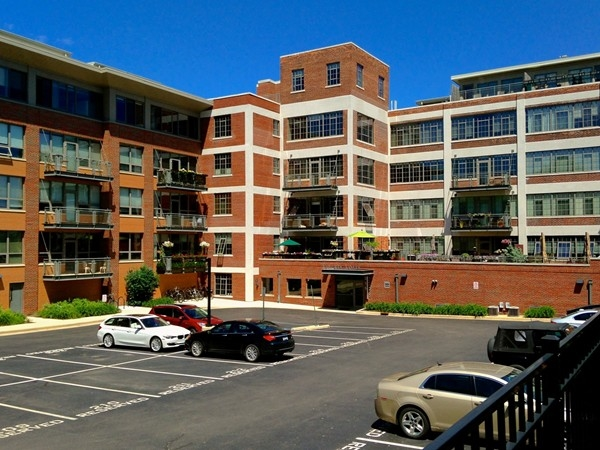 Liberty Lofts provide off-street parking