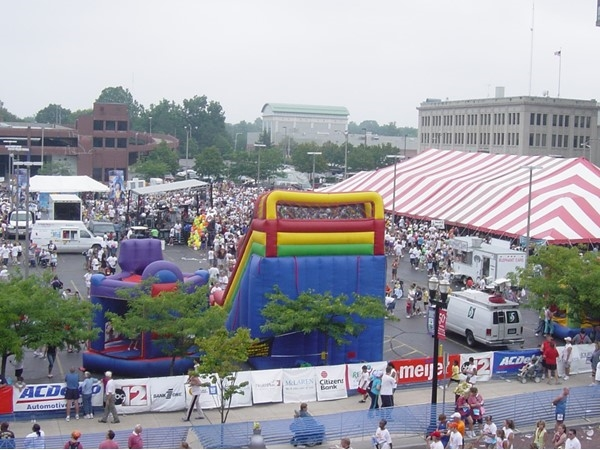 The Crim Festival Of Races in downtown Flint