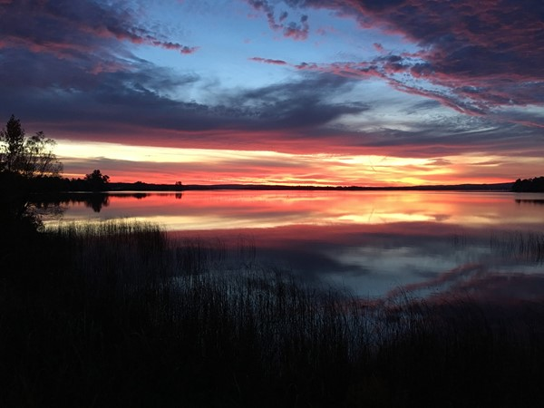 Sunrise over Crooked Lake