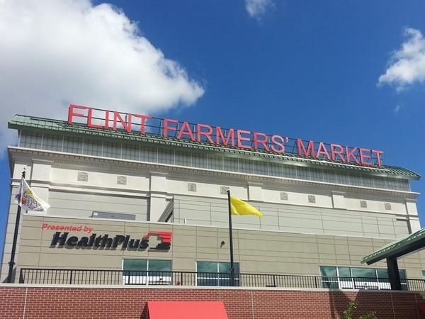 The new Flint Farmers' Market, Downtown Flint