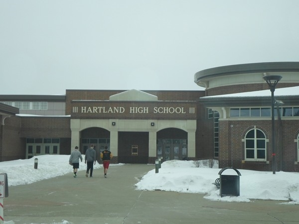 Award winning Hartlad Schools, Hartland High School