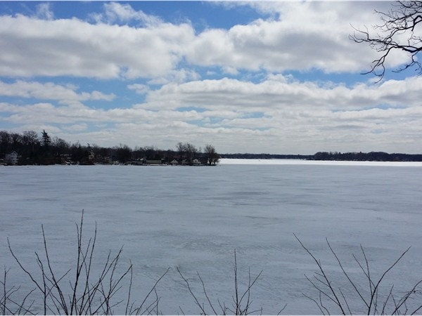 Spring has sprung and Lake Fenton is beginning to thaw.