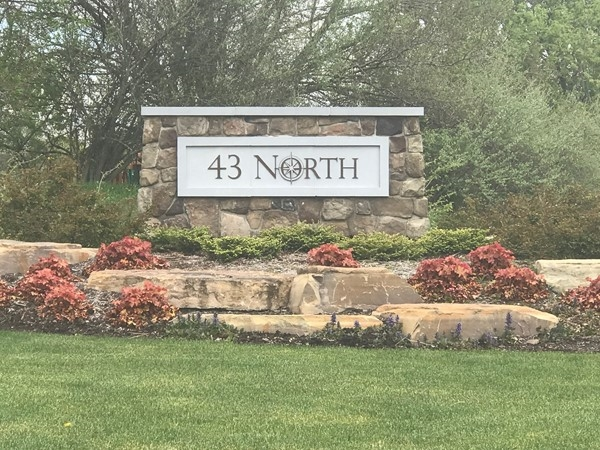 43 North entrance