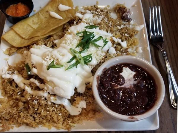 Chorizo con Queso...always delicious at Georgina's in downtown Traverse City