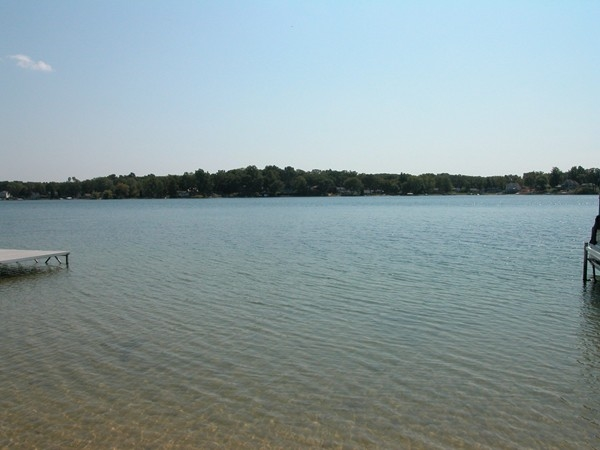 Crooked Lake in Texas Township.  Located in the Mattawan School District