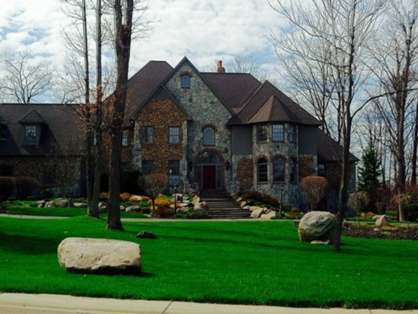 Homes are situated on large, beautifully landscaped lots in the Meadows of Grand Blanc
