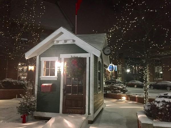 Visit Santa in downtown Traverse City