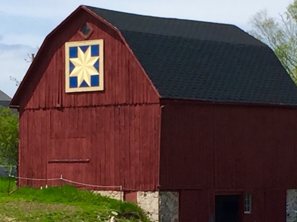 Appreciate a bit of history with a self-guided Old Mission Peninsula Quilt Barn Tour