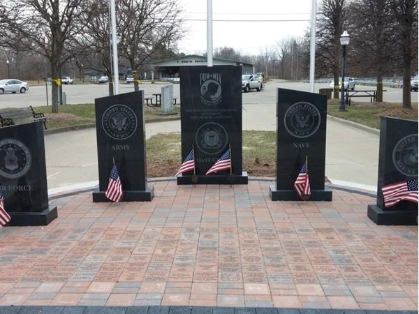 Veteran's Memorial, Vassar