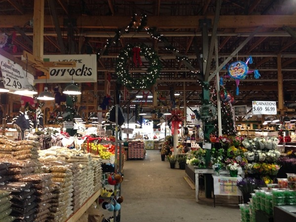 Lucky to have Horrock's Farm Market in town; people drive from all over to shop here