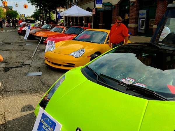 The Annual Rolling Sculpture Car Show offers quite a variety