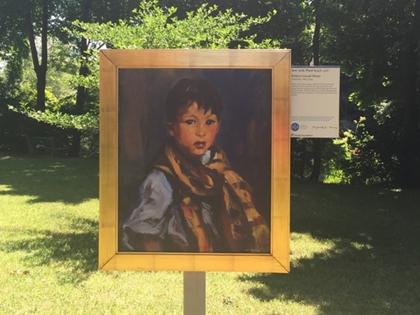 Turning TC into an outdoor art gallery - Detroit Institute of Arts Outdoor Reproductions Exhibit