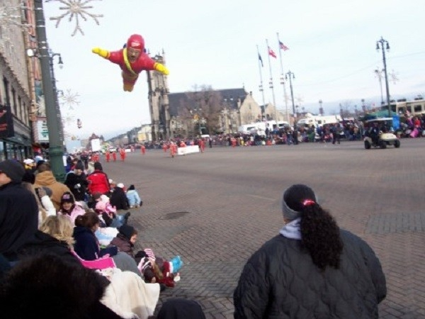 Woodward Avenue during Thanksgiving Day Parade, Detroit