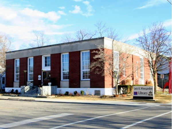 Fenton - Winegarden Library located within walking distance of Historic Dibbleville